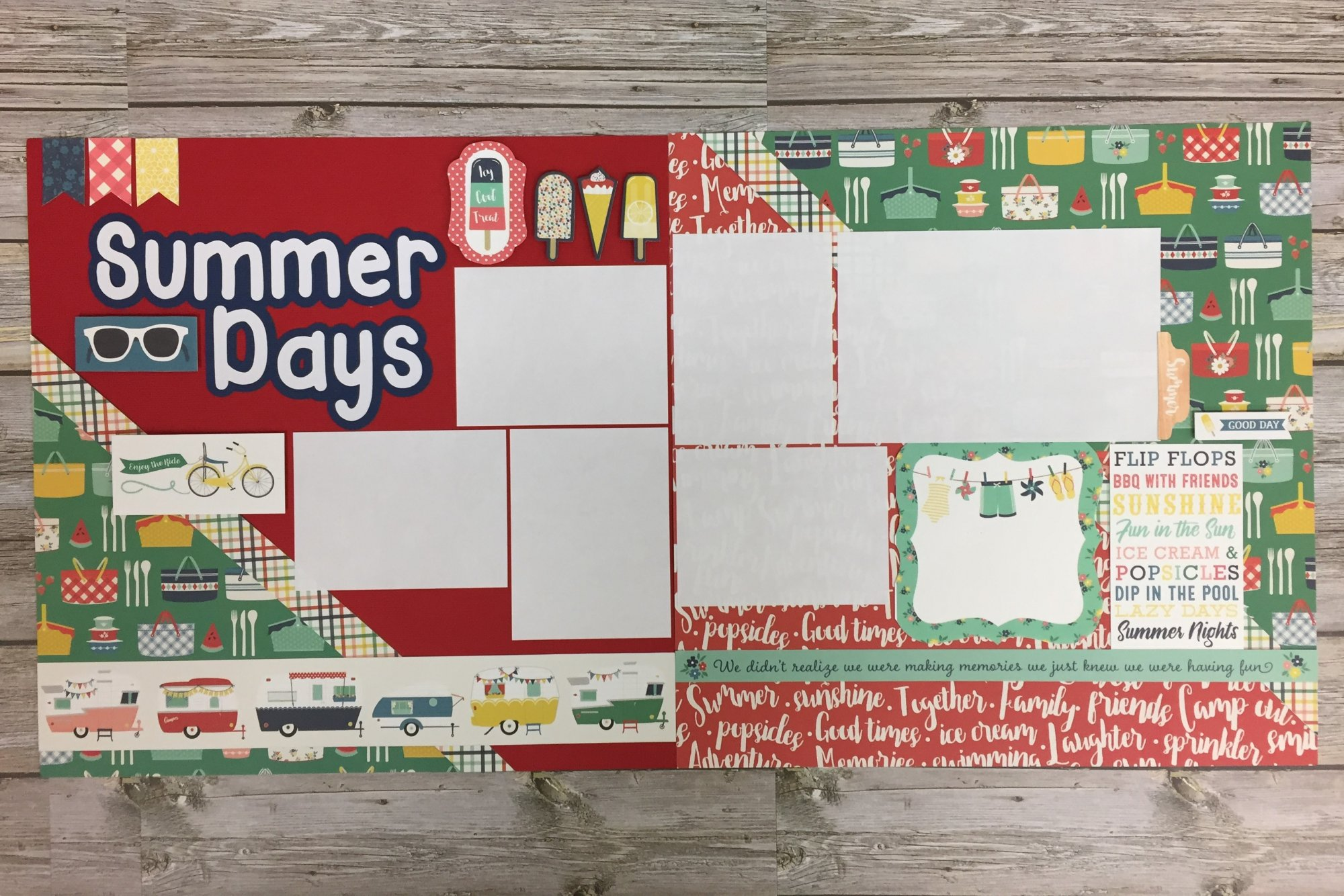 Summer Days Layout Kit
