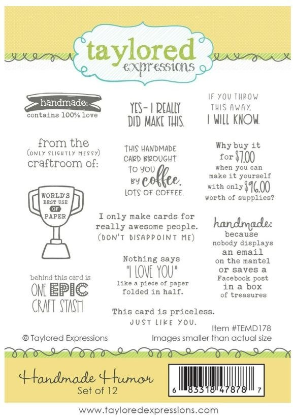 Taylored Expressions - Rubber Stamps - Handmade Humor