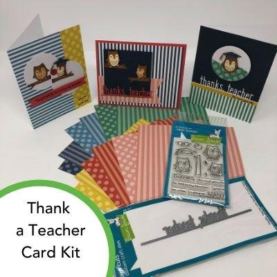 Thank a Teacher Card Kit