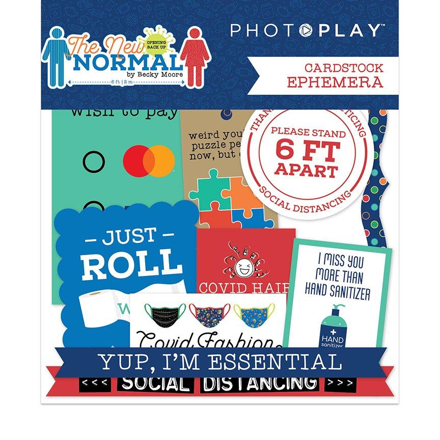 PRESALE - Photoplay The New Normal - Ephemera Die-Cuts