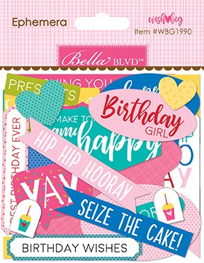 ^Bella Blvd - Wish Big Girl - Ephemera Words