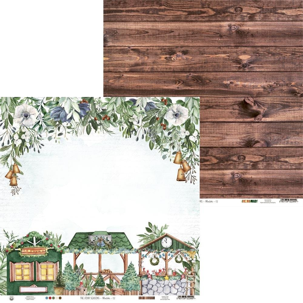 P13 The Four Seasons Winter 02 - 12x12 Double-Sided Paper