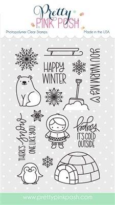 Pretty Pink Posh - Winter Wonderland Stamp Set