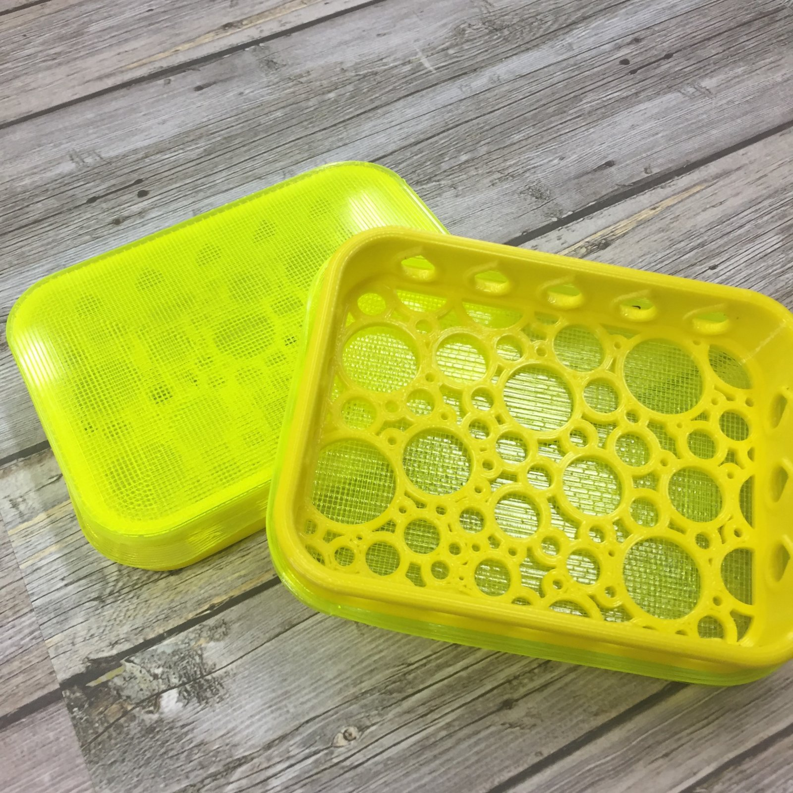 Stamp Shammy Case - Yellow, Bubble