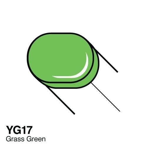 Copic -  Sketch Marker YG17 Grass Green