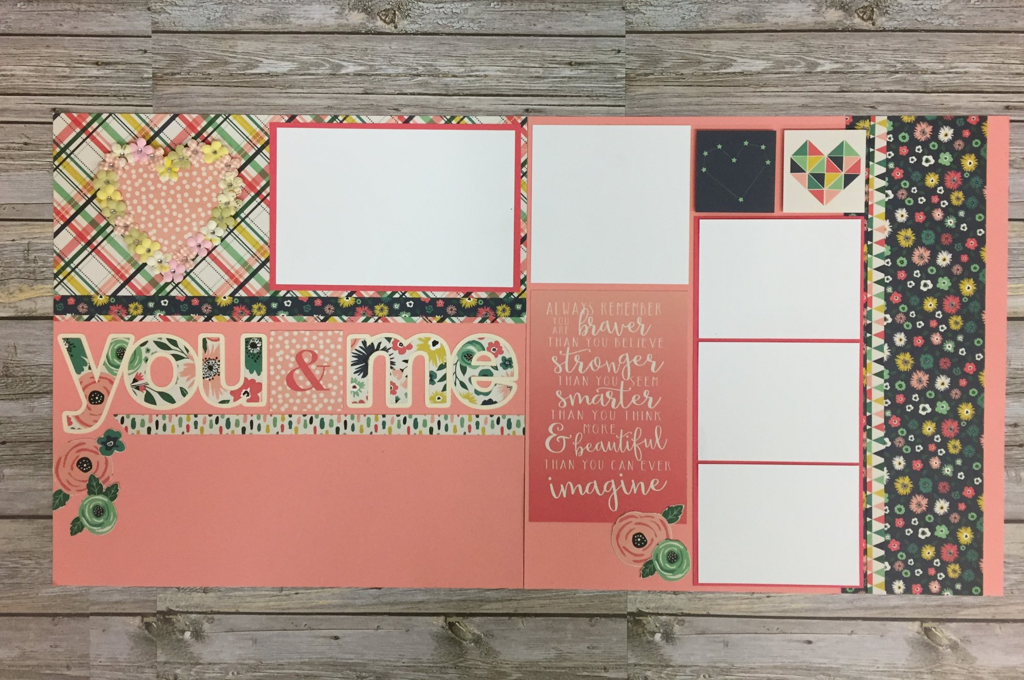 You and Me Layout Kit