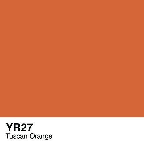Copic -  Sketch Marker YR27 Tuscan Orange
