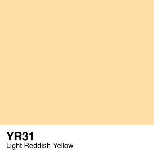 Copic -  Sketch Marker YR31 Light Reddish Yellow