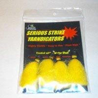 Serious Anglers Yarndicators Yellow 4pk