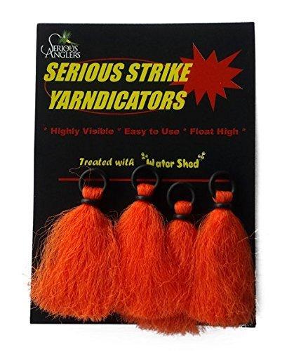 Serious Anglers Yarndicators Orange 4pk