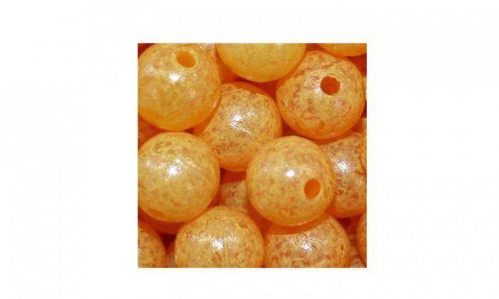Mottledbeads 8mm Egg Yolk 30pk