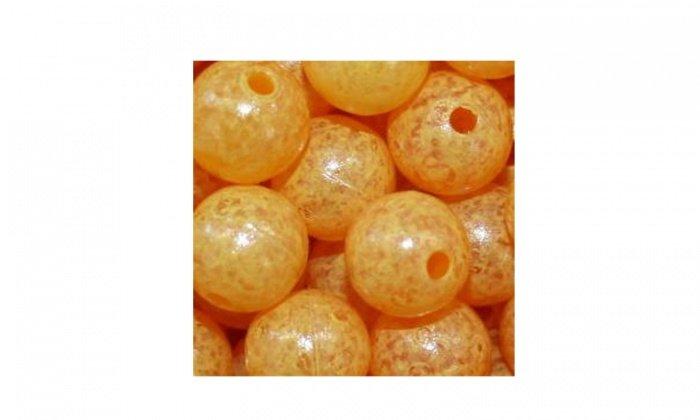 Mottledbeads 10mm Egg Yolk 15pk