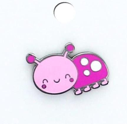 Doodlebug Collectible Enamel Pin- Little Lady