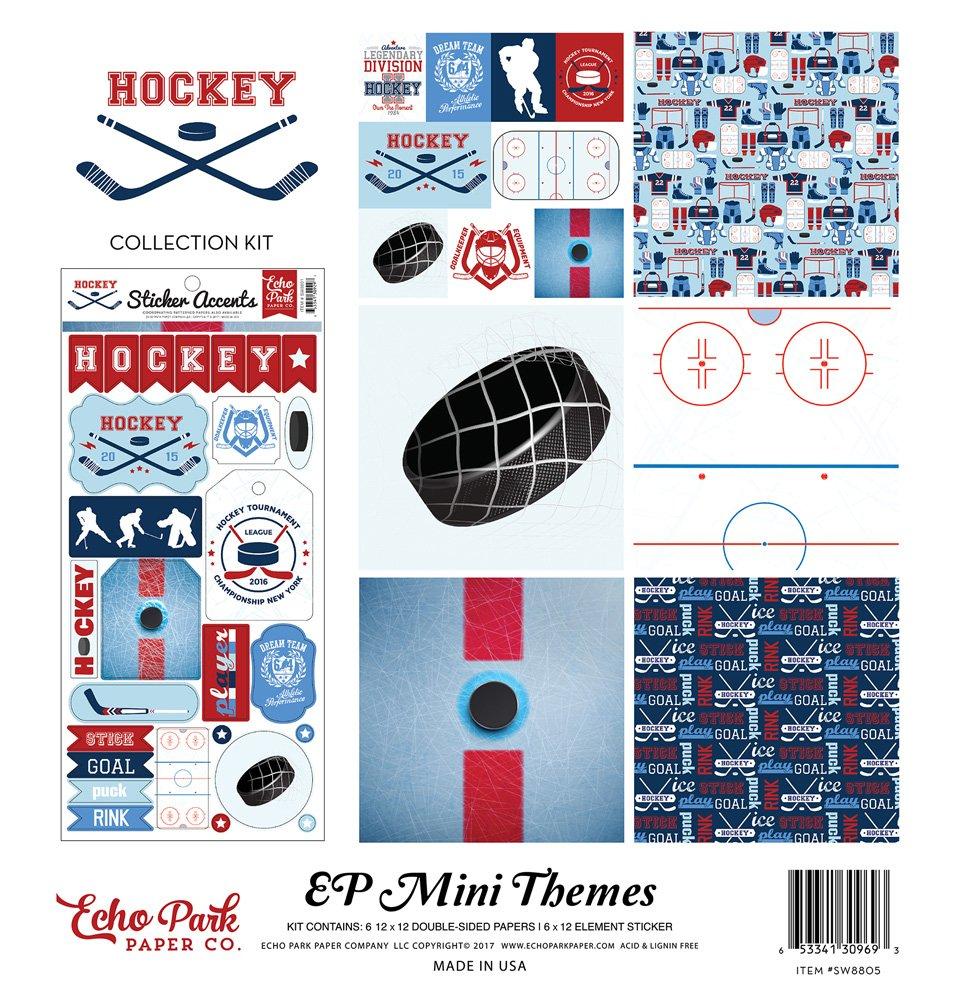 Echo Park Hockey Mini Theme 12x12