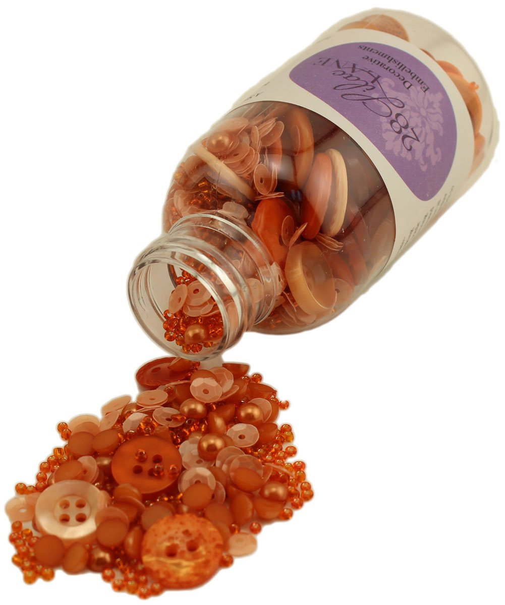 28 Lilac Lane Decorative Embellishments- Pumpkin Spice