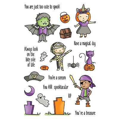 LDRS Halloween High Jinks Stamps