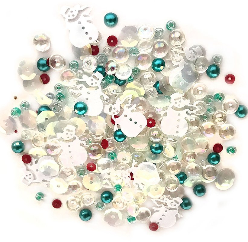 Buttons Galore Sparkletz- Frosty Friends