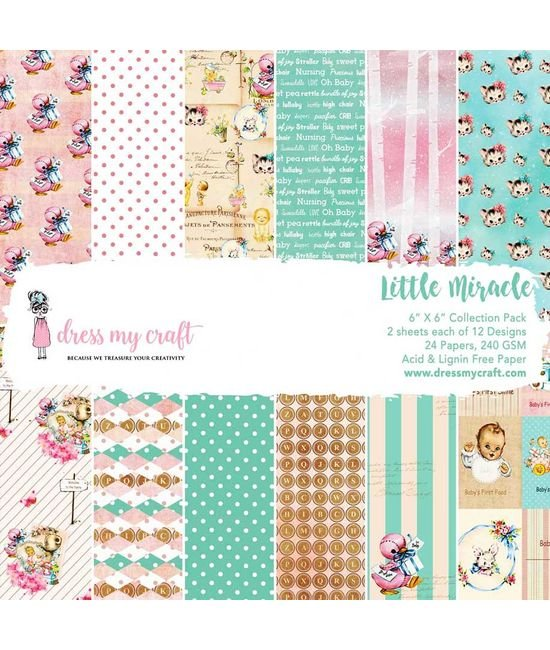Dress My Craft Little Miracle Collection Pack