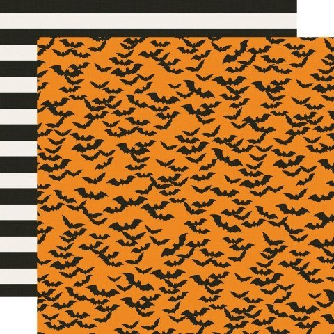 Simple Stories Say Cheese Halloween Double Sided Cardstock 12x12- Frankly Frightful