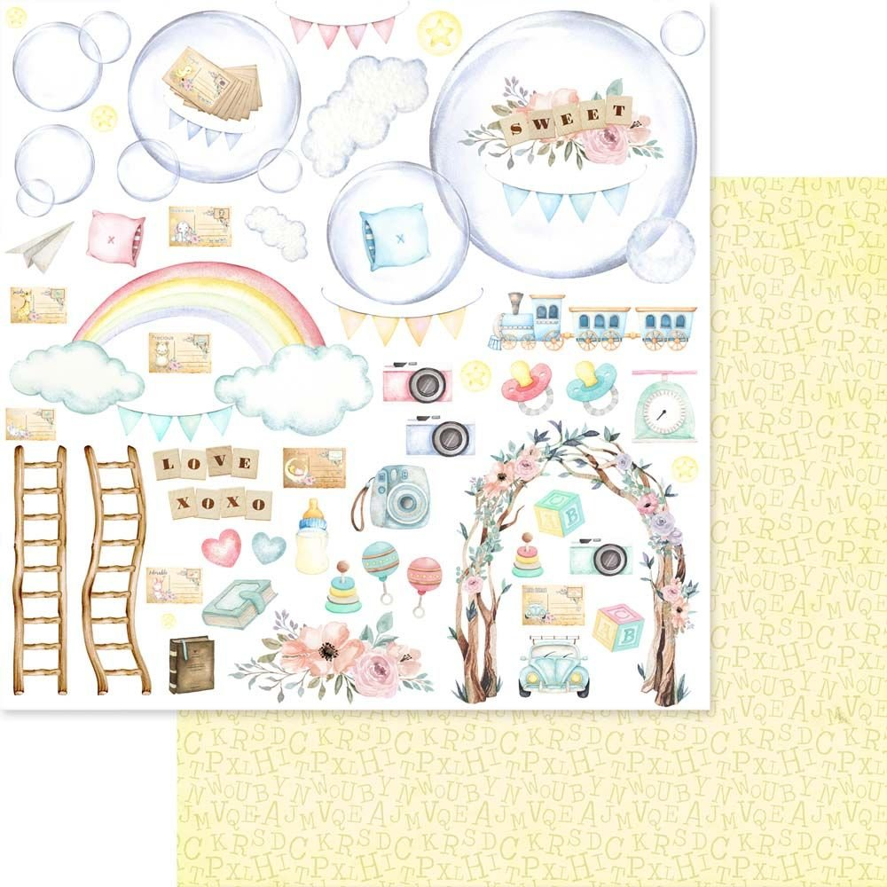 Asuka Dream Land Collection Paper Pack 12x12