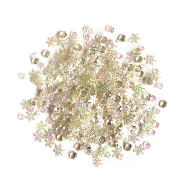 Buttons Galore Sparkletz- Fun Flurries