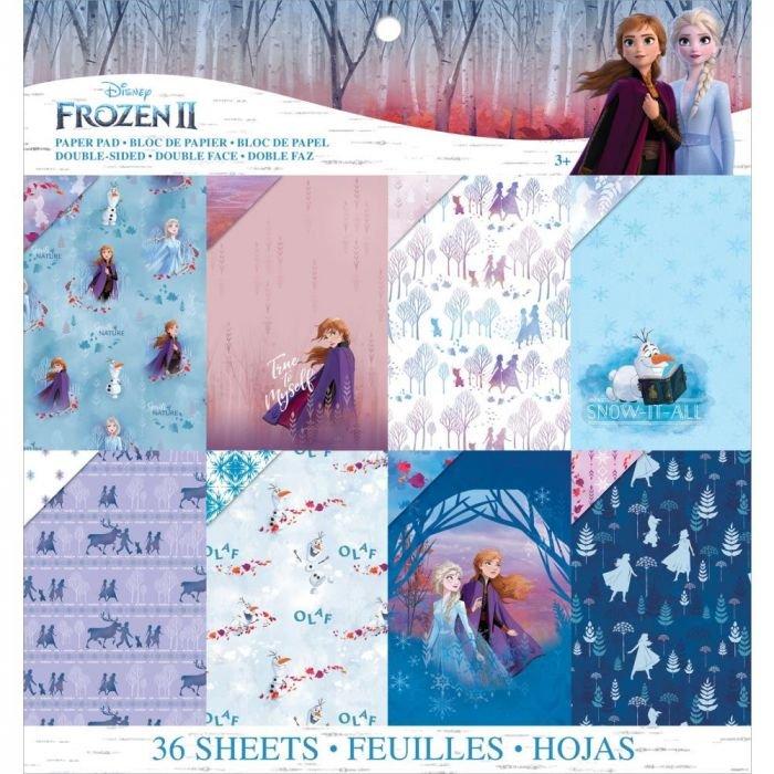 EK Disney Frozen II Paper Pad 12x12