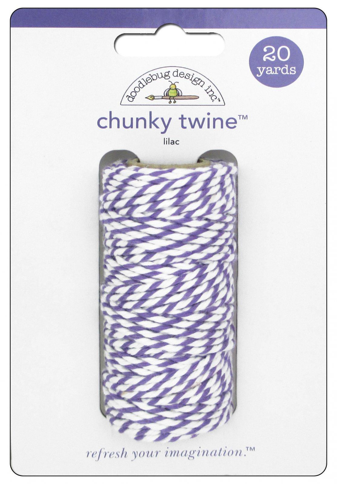 Doodlebug Chunky Twine Lilac