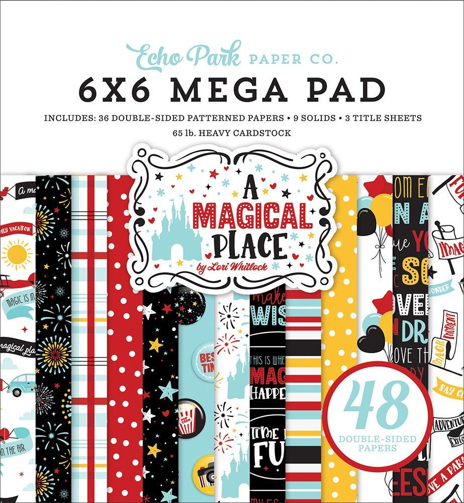 Echo Park A Magical Place Mega Paper Pad 6x6