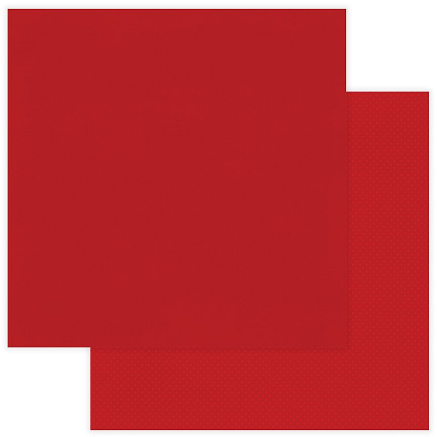 Photoplay The Muttcracker Double-Sided Cardstock 12x12- Solids Plus Red