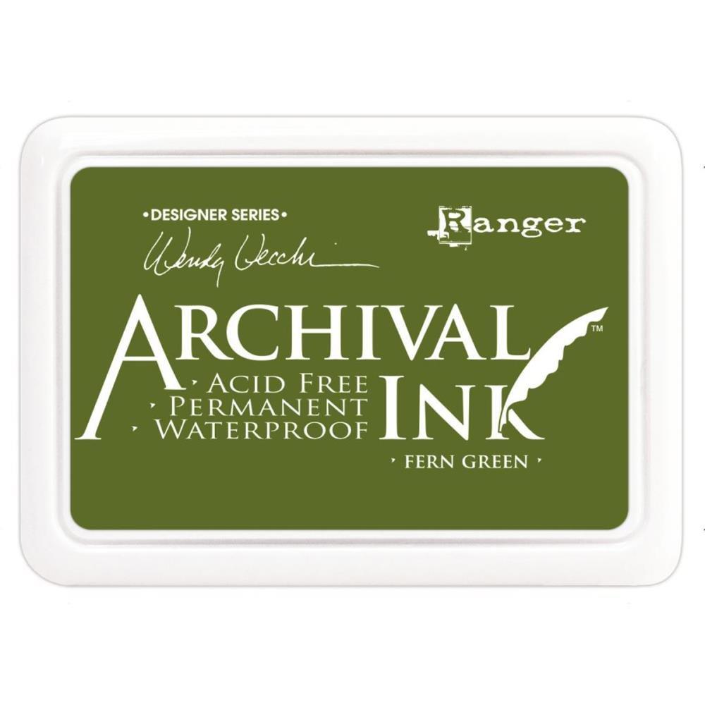 WV Archival Ink Pad Fern Green