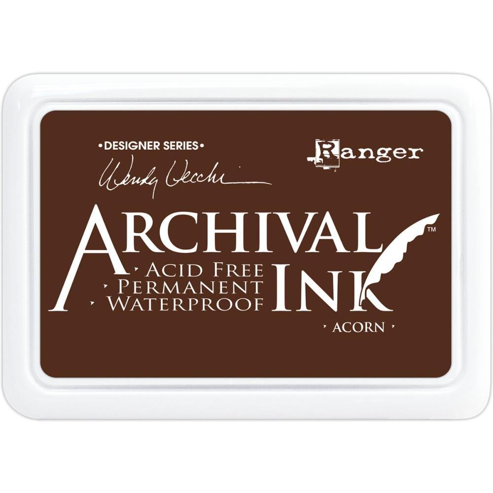 WV Archival Ink Acorn