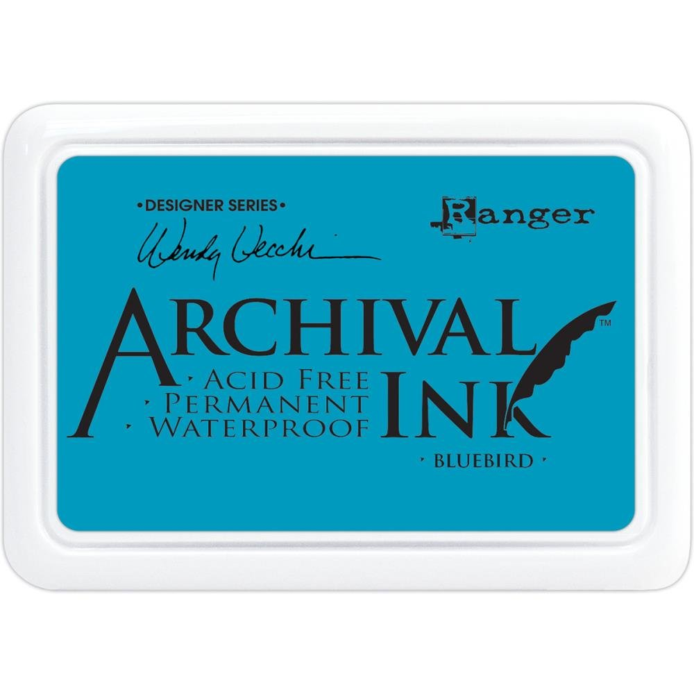 WV Archival Ink Bluebird