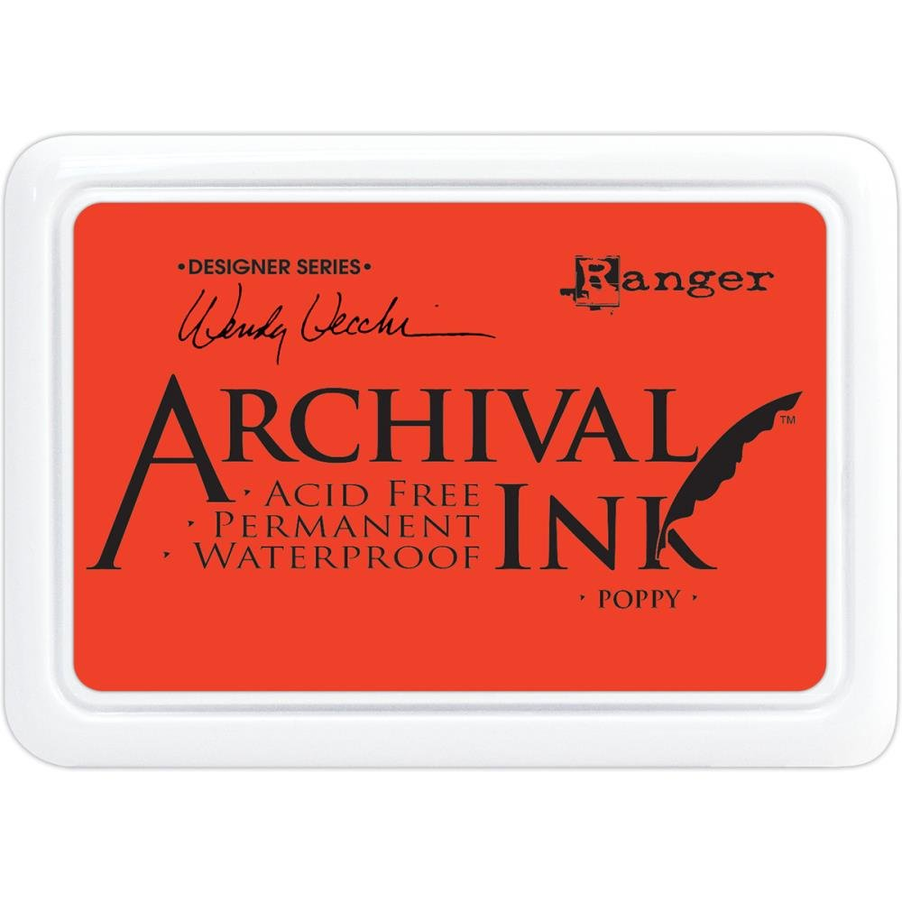WV Archival Ink Poppy