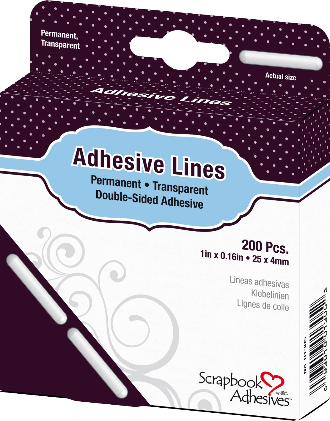 Adhesive Lines