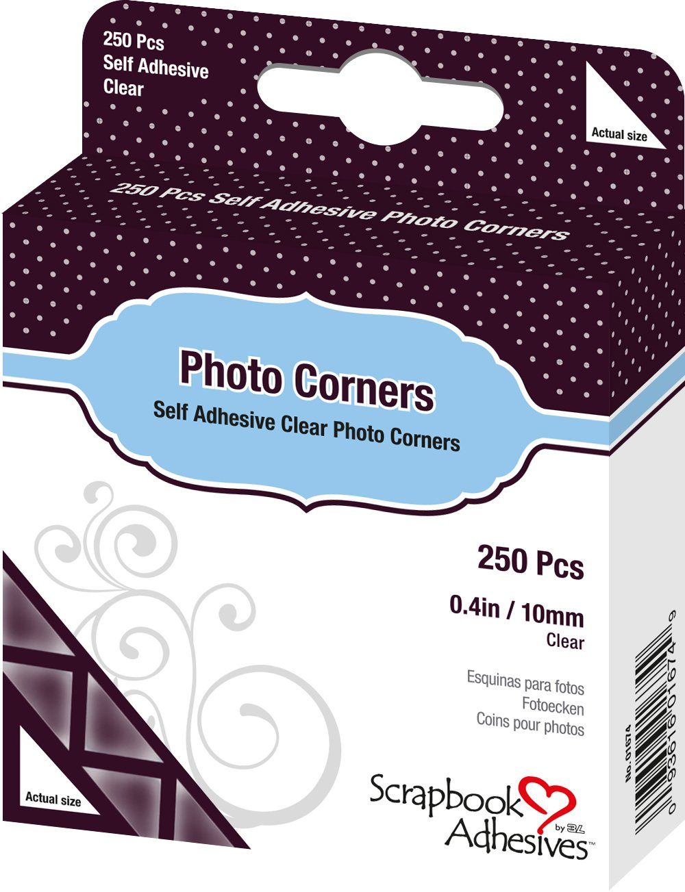 3L Clear Photo Corners