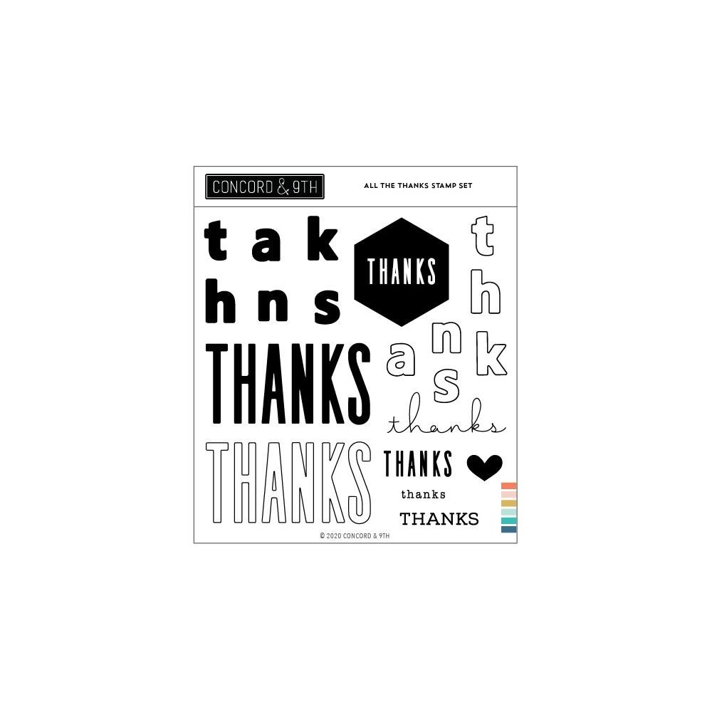 Concord & 9th All The Thanks Stamp Set