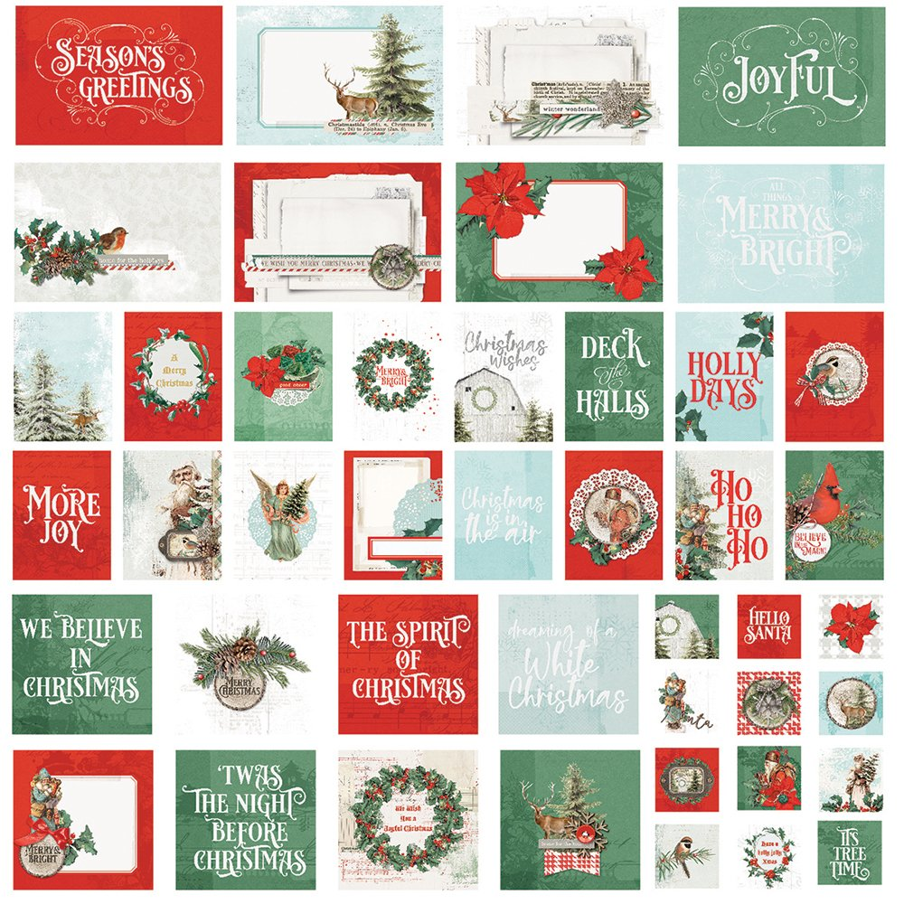 Simple Stories Country Christmas SNap Cards