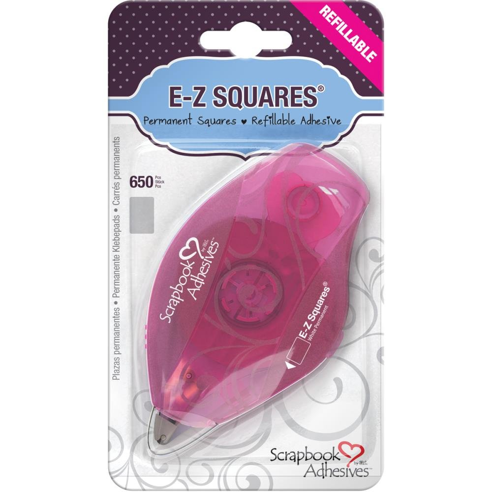 Scrapbook Adhesives by 3L E-Z Squares Permanent Dispenser