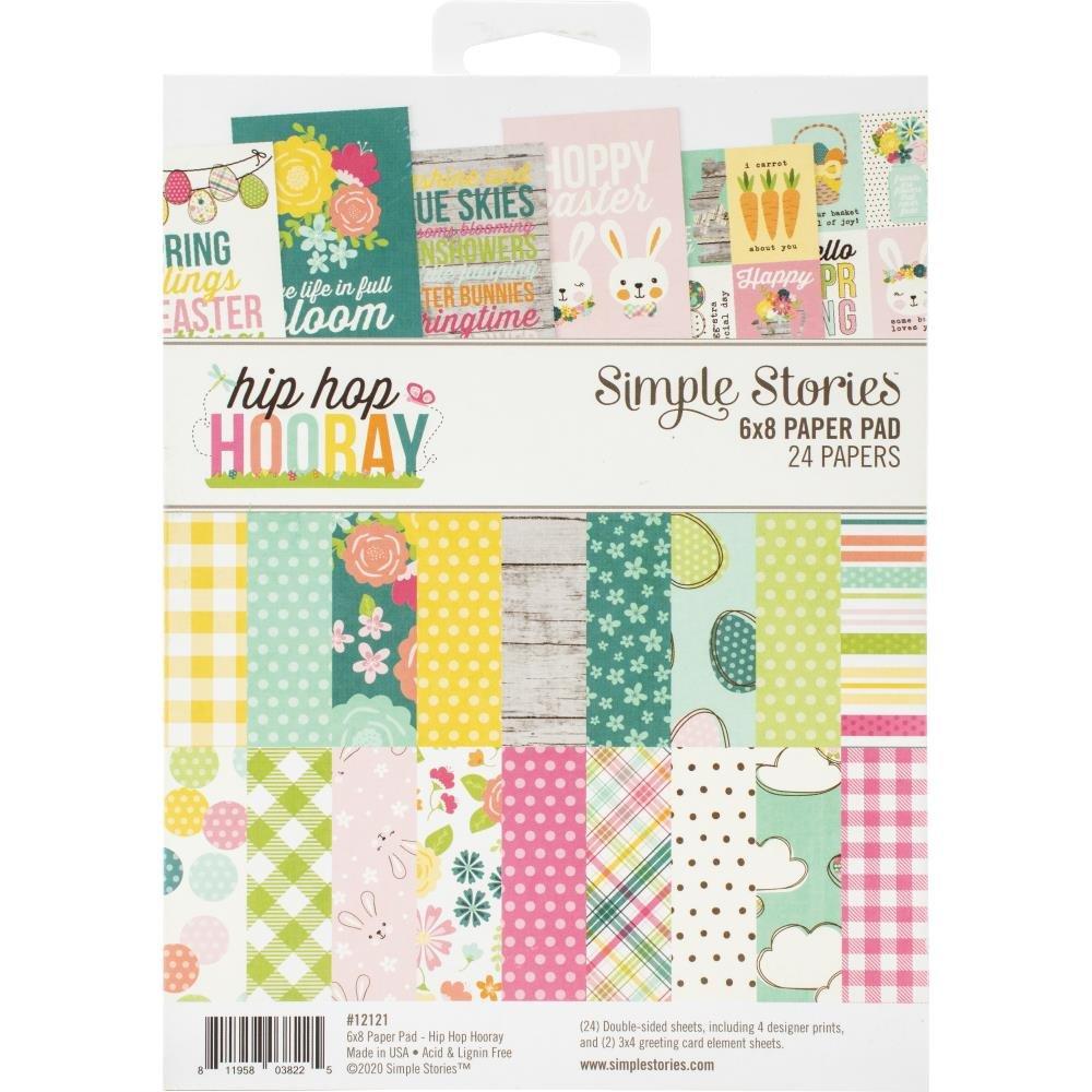 Simple Stories Hip Hop Hooray 6x8 Paper Pad