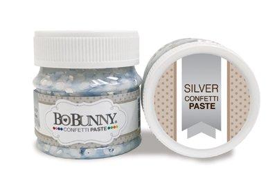 Silver Confetti Glitter Paste
