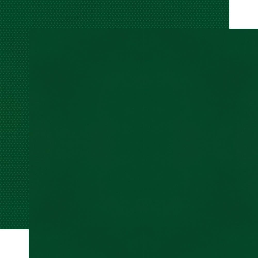 Simple Stories Textured Cardstock Evergreen