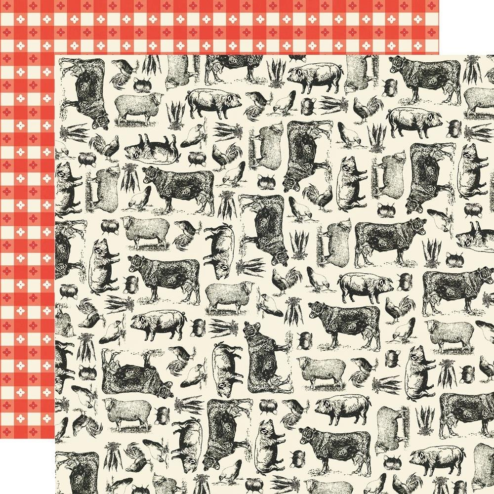 Simple Stories Apron Stings 12x12 Farm To Table