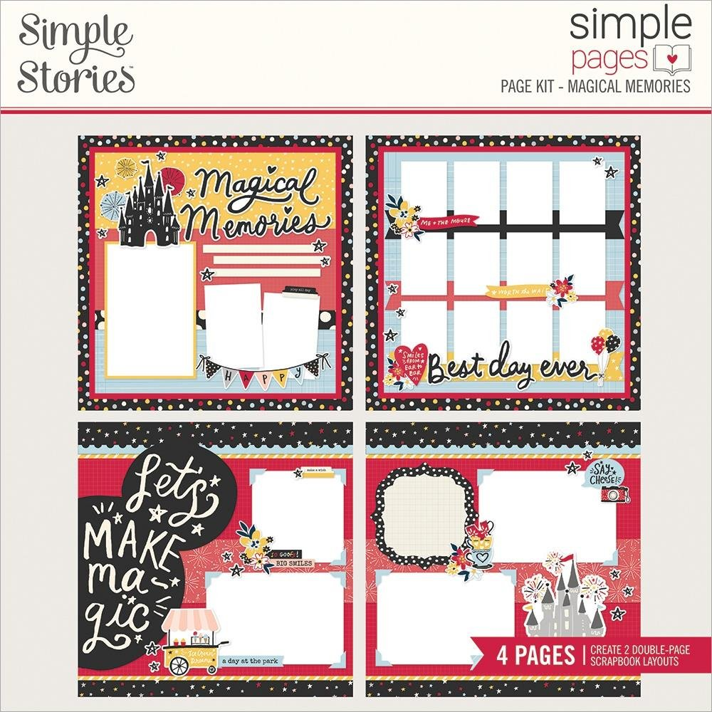 Simple Stories Magical Memories Page Kit