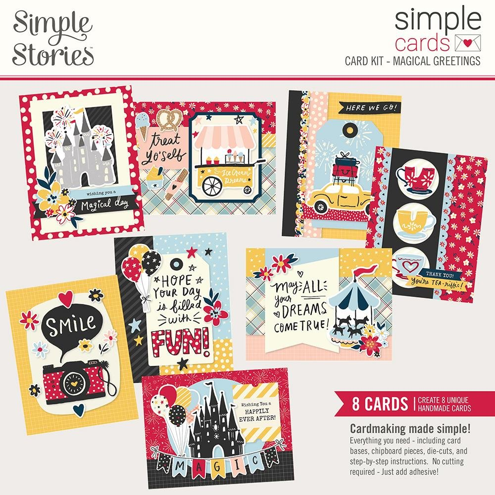 Simple Stories Simple Cards Magical Greetings