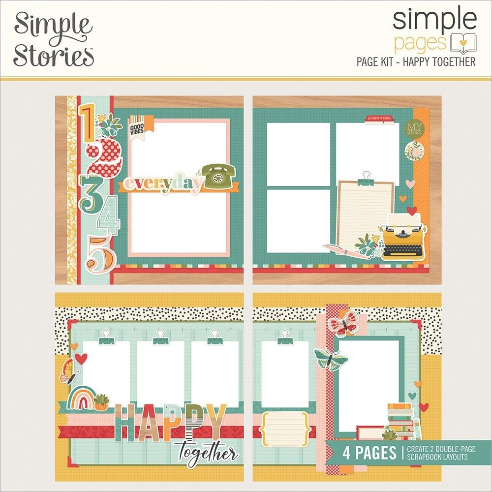 Simple Stories Simple Pages Happy Together Kit
