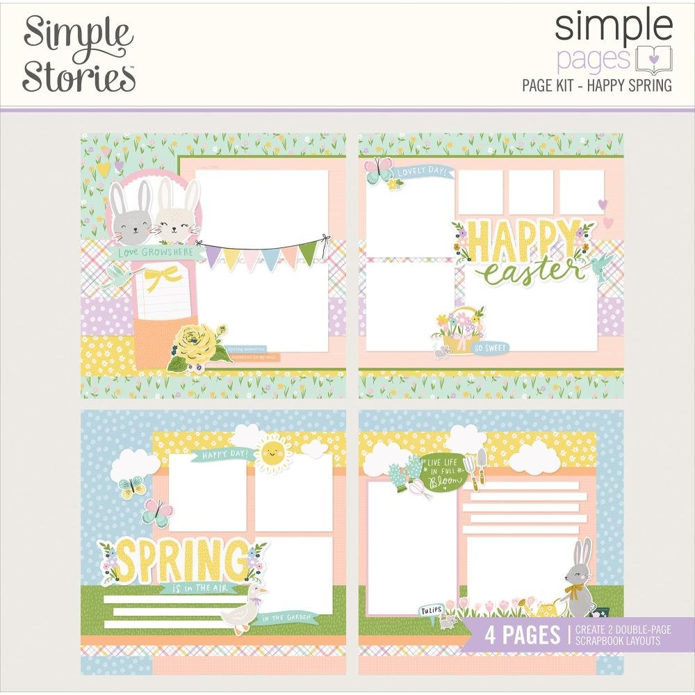 Simple Stories Simple Pages - Happy Spring