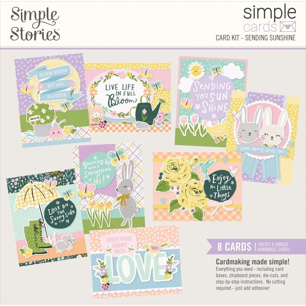 Simple Stories Sending Sunshine Card Kit