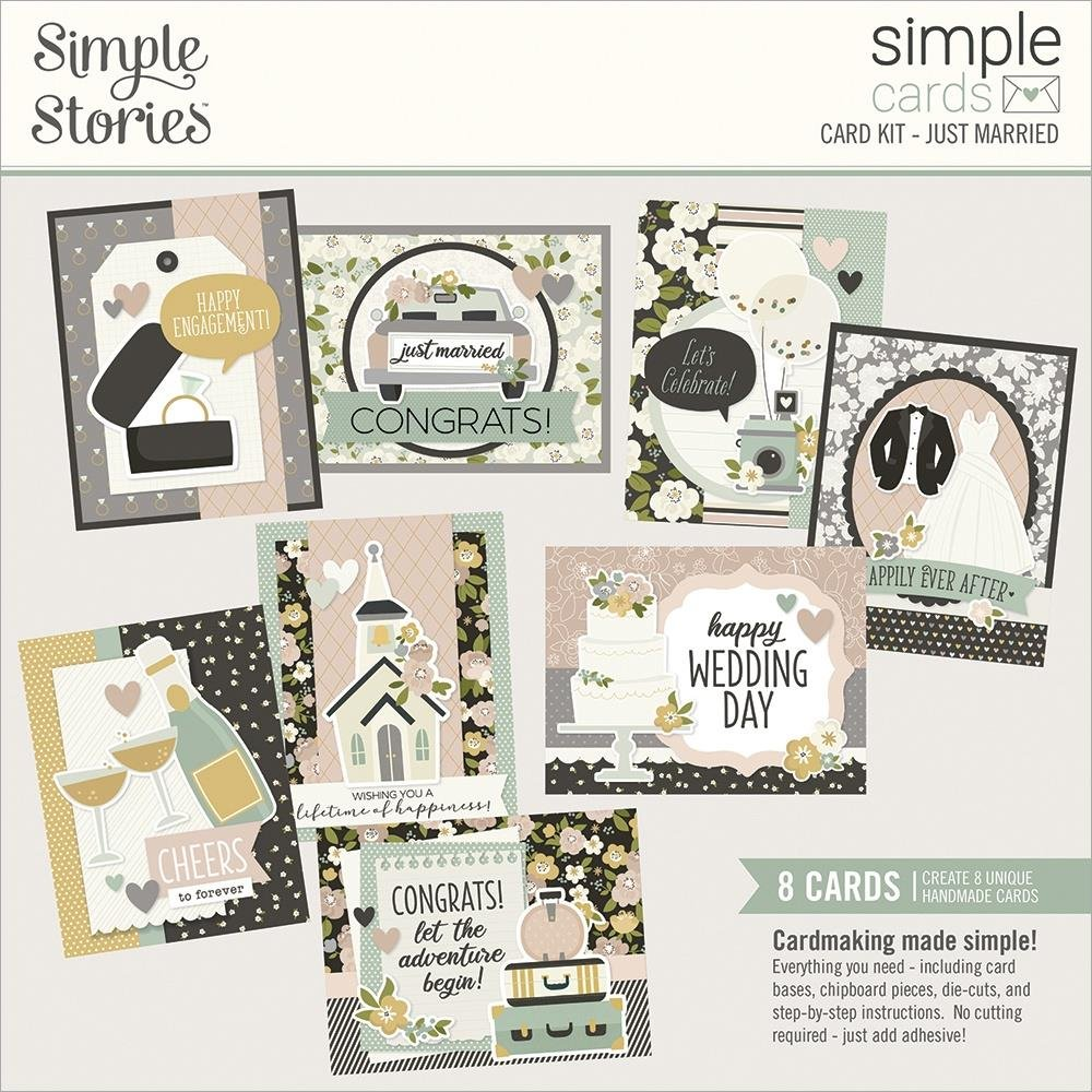 Simple Stories Simple Cards - Just Married