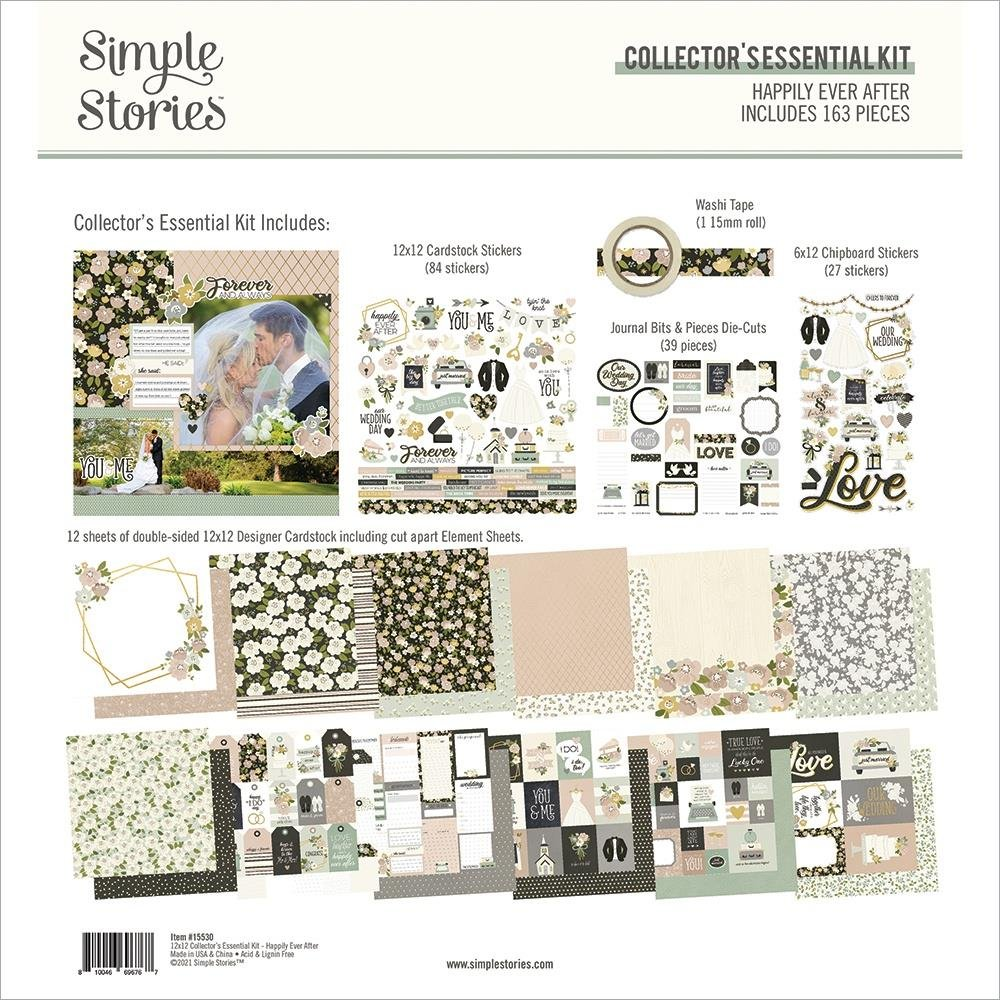 Simple Stories Happily Ever After Collector's Essential Kit