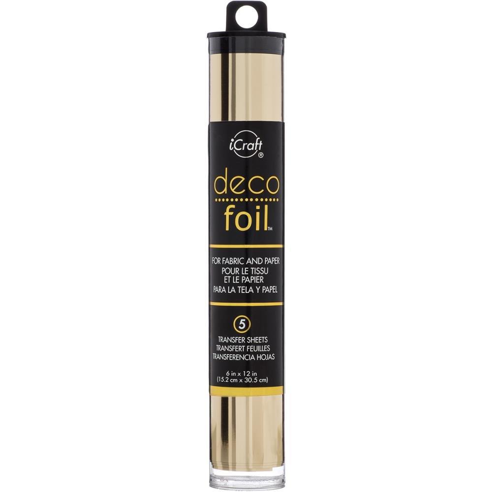 Deco Foil Transfer Sheets Champagne 5 sheets